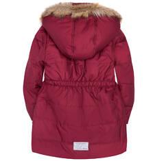 Długi płaszcz zimowy dla dziewczynki 3-8 lat D72A015_2