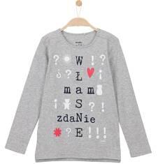 Bluzka z długim rękawem dla dziewczynki 3-8 lat D62G090_1