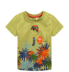 T-shirt dla niemowlaka N51G045_1