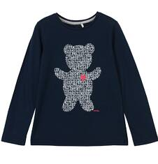 Bluzka z długim rękawem dla dziewczynki 9-12 lat D62G591_2