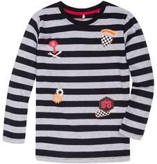 T-shirt z długim rękawem dla chłopca 9-13 lat C72G527_1