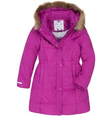 Długi zimowy płaszcz dla dziewczynki 9-13 lat D72A509_1