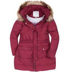 Długi płaszcz zimowy dla dziewczynki 9-13 lat D72A515_2
