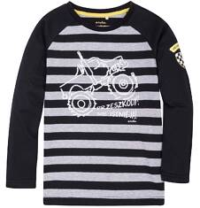 Koszulka z długim reglanowym rękawem dla chłopca 9-13 lat C72G529_1