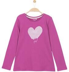 Bluzka z długim rękawem dla dziewczynki 9-12 lat D62G601_2