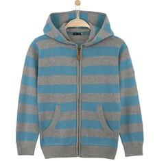 Rozpinany sweter w paski dla chłopca C61B004_2
