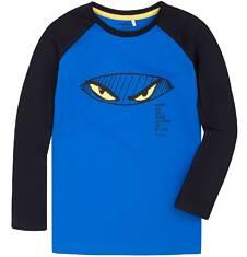 Koszulka z długim reglanowym rękawem dla chłopca 9-13 lat C72G588_1