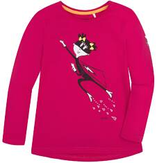 Bluzka z długim rękawem  dla dziewczynki 3-8 lat D72G071_1
