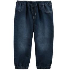 Jeansy ze ściągaczami dla niemowlaka N61K001_1