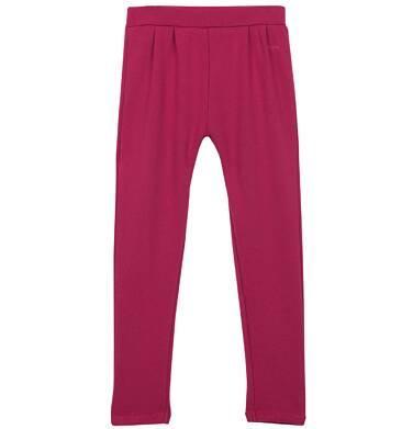 Spodnie dresowe z zakładkami dla dziewczynki 9-12 lat D62K504_1