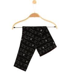 Legginsy we wzorzysty deseń dla niemowlaka N61K025_1