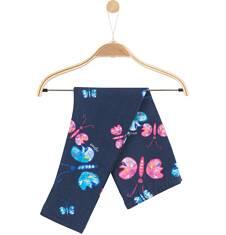 Legginsy w kolorowy deseń dla niemowlaka N61K026_1