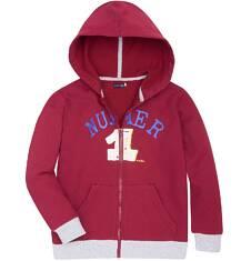 Ciepła rozpinana bluza z kapturem dla chłopca 9-13 lat C72C509_1