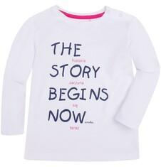 Lekko rozszerzana bluzka dla dziecka 2-4 lata N72G055_1