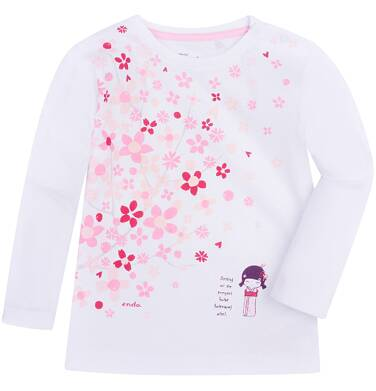 Lekko rozszerzana bluzka dla dziecka 6-36 m N72G021_1
