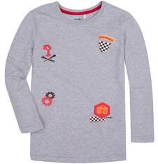 T-shirt z długim rękawem dla chłopca 9-13 lat C72G519_1