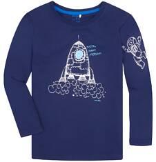T-shirt z długim rękawem dla chłopca 9-13 lat C72G575_1