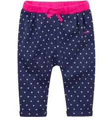 Spodnie dresowe z zakładkami  dla dziecka 0-3 lat N71K011_1