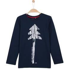 T-shirt z długim rękawem dla chłopca 9-12 lat C62G548_2