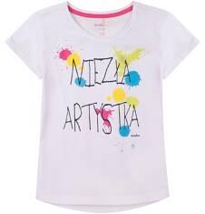 Bluzka z przedłużonym tyłem dla dziewczynki 4-8 lat D71G174_1