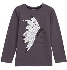 T-shirt z długim rękawem dla chłopca 9-12 lat C62G570_1