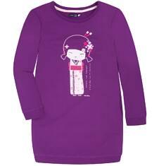 Sukienka o charakterze bluzy dla dziewczynki 9-13 lat D72H509_1