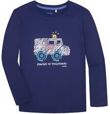 T-shirt z długim rękawem dla chłopca 9-13 lat C72G539_1