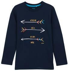 T-shirt z długim rękawem dla chłopca 9-12 lat C62G575_2