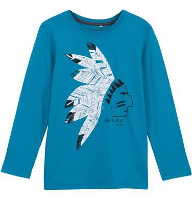 T-shirt z długim rękawem dla chłopca 9-12 lat C62G564_1
