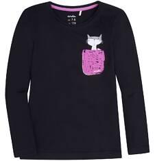 Bluzka z długim rękawem  dla dziewczynki 9-13 lat D72G647_1