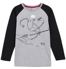 T-shirt z długim rękawem dla chłopca 3-8 lat C62G127_1