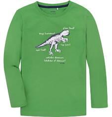 T-shirt z długim rękawem dla chłopca 9-13 lat C72G605_1