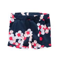 Krótkie spodnie w deseń japońskich kwiatów dla niemowlaka N51K039_1