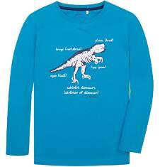 T-shirt z długim rękawem dla chłopca 9-13 lat C72G605_2