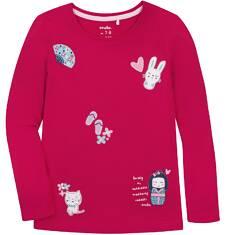 Bluzka z długim rękawem  dla dziewczynki 9-13 lat D72G552_1