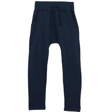 Spodnie dresowe z obniżonym krokiem dla chłopca 9-12 lat C62K506_2