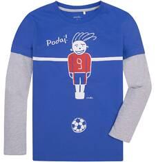 Koszulka z długimi, odcinanymi rękawami dla chłopca 9-13 lat C72G509_2