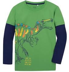 Koszulka z długimi, odcinanymi rękawami dla chłopca 9-13 lat C72G620_1