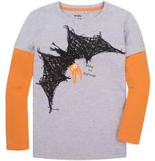 Koszulka z długimi, odcinanymi rękawami dla chłopca 9-13 lat C72G635_1