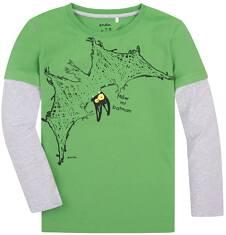 Koszulka z długimi, odcinanymi rękawami dla chłopca 9-13 lat C72G635_2