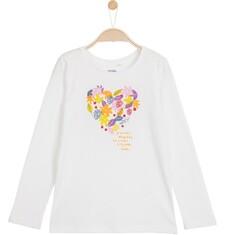 Bluzka z długim rękawem dla dziewczynki 3-8 lat D62G080_1
