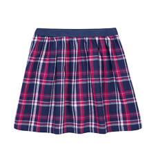 Spódnica w kratkę dla dziewczynki 9-13 lat D72J516_1
