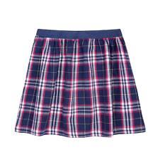 Spódnica w kratkę dla dziewczynki 9-13 lat D72J517_1