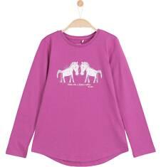 Bluzka z dłuższym tyłem dla dziewczynki 3-8 lat D62G107_1