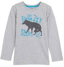 T-shirt z długim rękawem dla chłopca 3-8 lat C62G099_1