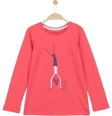 Bluzka z długim rękawem dla dziewczynki 3-8 lat D62G129_1