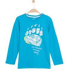T-shirt z długim rękawem dla chłopca 9-12 lat C62G600_1