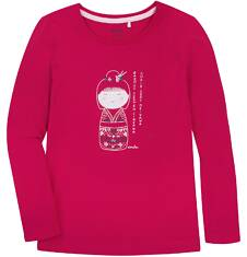 Bluzka z długim rękawem  dla dziewczynki 3-8 lat D72G049_1