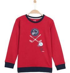 T-shirt z długim rękawem dla chłopca 9-12 lat C62G638_1