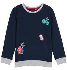 T-shirt z długim rękawem dla chłopca 9-12 lat C62G640_1